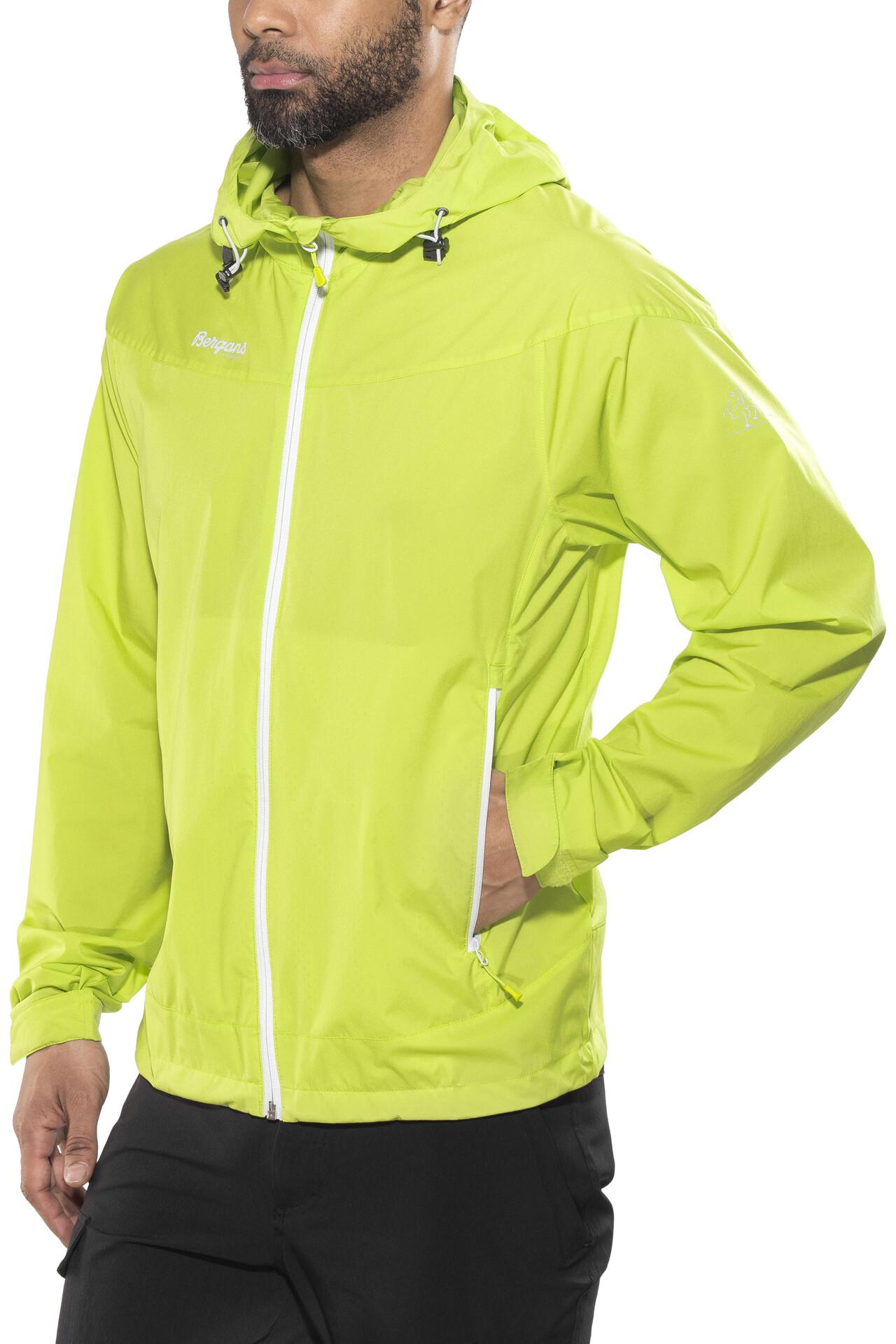 Bergans Microlight Jacket Herren spring leavesalu